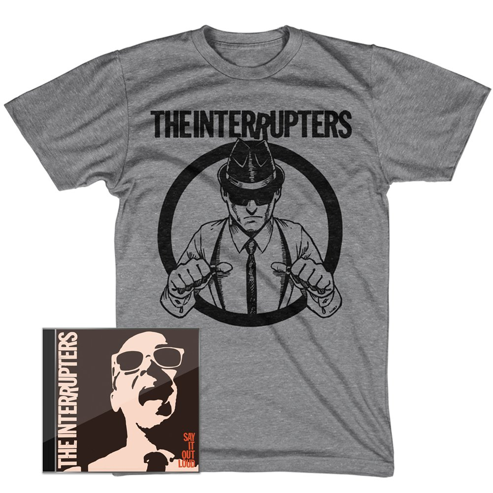 IMAGE | Say It Out Loud CD + Suspenders T-Shirt Bundle