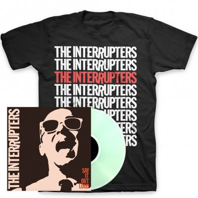 epitaph-records - Say It Out Loud LP + Repeater T-Shirt Bundle