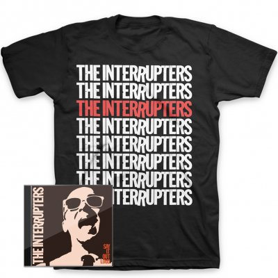 Say It Out Loud CD + Repeater T-Shirt Bundle