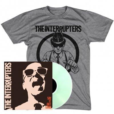 Say It Out Loud LP + Suspenders T-Shirt Bundle