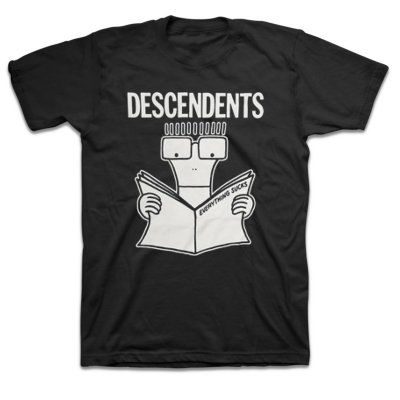 Descendents - Everything Sucks Tee (Black)