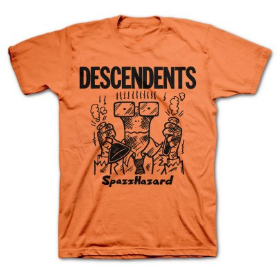 Descendents - Spazzhazard Tee (Orange)