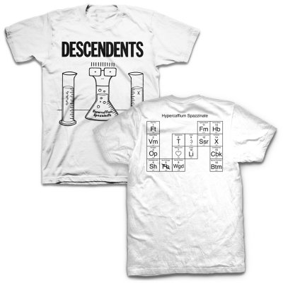 Descendents - Hypercaffium Spazzinate T-Shirt (White)