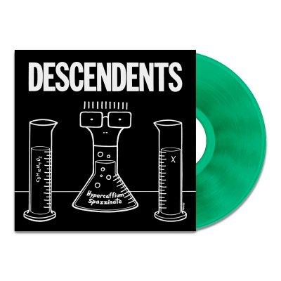 Descendents - Hypercaffium Spazzinate LP (Transparent Green)