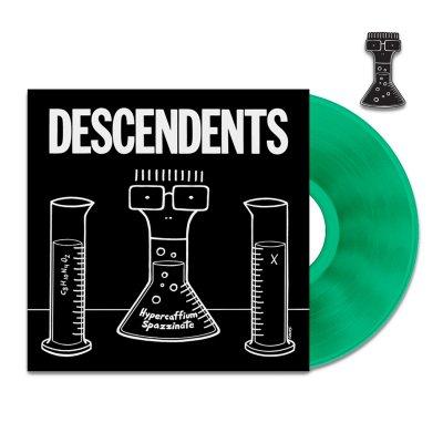 IMAGE | Hypercaffium Spazzinate LP (Green) + Enamel Pin Bundle