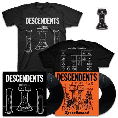 IMAGE   Hypercaffium Spazzinate LP (Black) + Spazzhazard EP + Hypercaffium T-Shirt + Enamel Pin Bundle