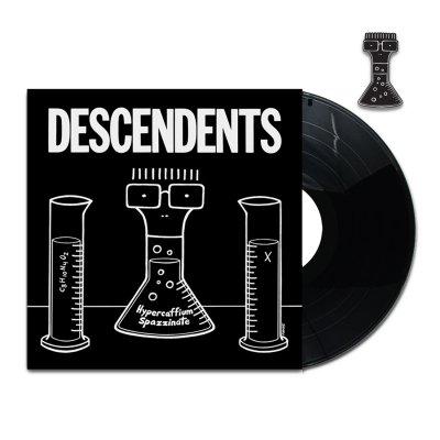 Hypercaffium Spazzinate LP (Black) + Enamel Pin Bundle