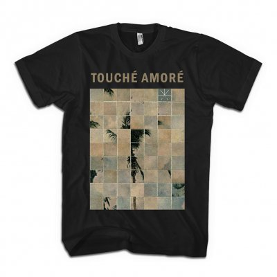 Touche Amore - Palm Dreams T-Shirt (Black)