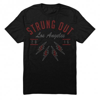 Strung Out - Los Angeles Tesla Tee (Black)