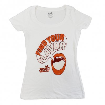 zevia - Find Your Flavor Tee - Women's
