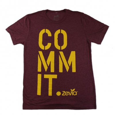 zevia - Commit Tee - Men's