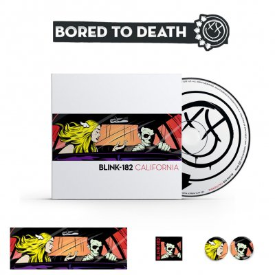 Blink 182 - California CD + Accessories Bundle