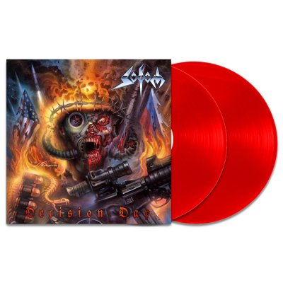 sodom - Decision Day 180 Gram 2xLP (Red) + T-Shirt (Black)