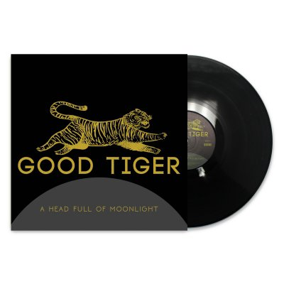 good-tiger - A Head Full Of Moonlight LP (Black)