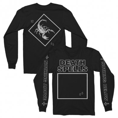 Death Spells - Scorpion Longsleeve (Black)