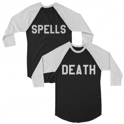 Death Spells - DS Raglan (Black/White)