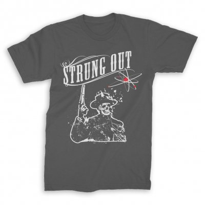strung-out - Skull Cowboy Tee (Gray)