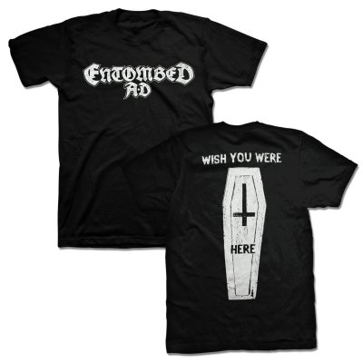 Entombed AD - Coffin T-Shirt (Black)