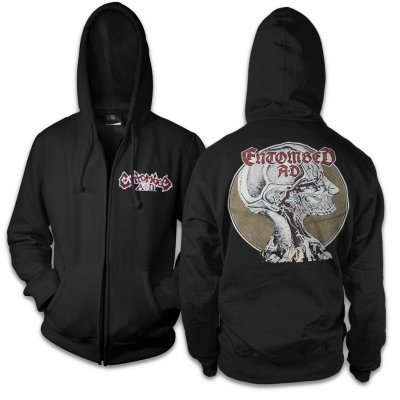 Entombed AD - Dead Dawn Zip Up Sweatshirt (Black)