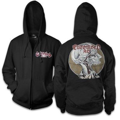 Dead Dawn Zip Up Sweatshirt (Black)