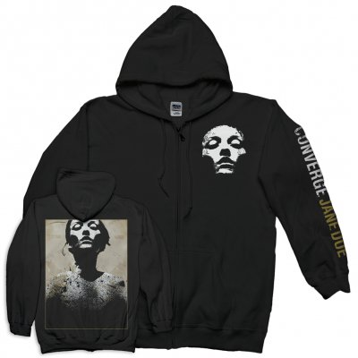 Converge - Jane Doe Classic Zip-Up Hoodie (Black)