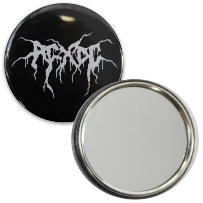 Black Metal Mirror