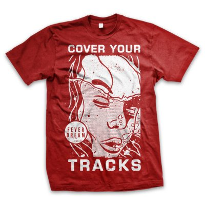 cover-your-tracks - Drown T-Shirt (Red)