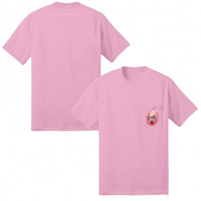 vagrant - Light We Made Pocket T-Shirt (Pink)