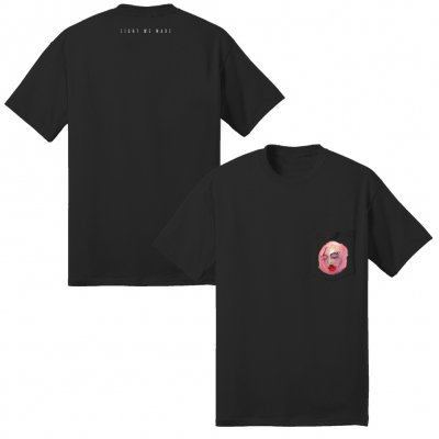 vagrant - Light We Made Pocket T-Shirt (Black)
