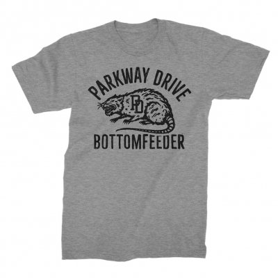 Parkway Drive - Bottom Feeder T-Shirt (Heather Grey)