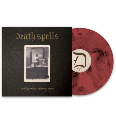 Death Spells - nothing above, nothing below LP (Burgundy Smoke)