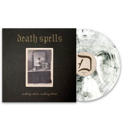 Death Spells - nothing above LP (White Smoke) + Wreath T-Shirt (White)