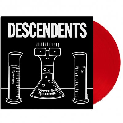Descendents - Hypercaffium Spazzinate LP (Opaque Red)
