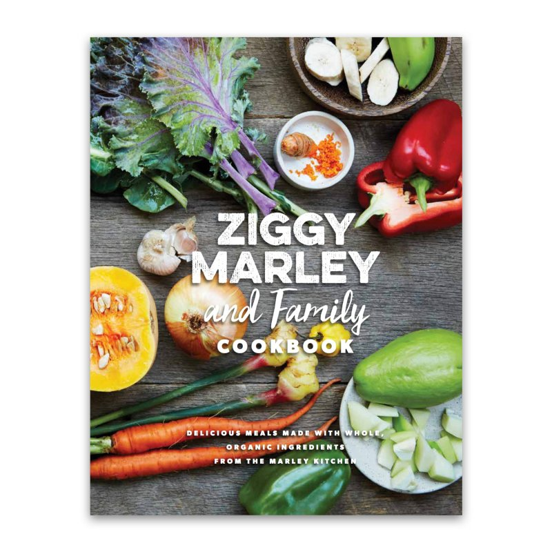 ziggy-marley - Ziggy Marley and Family Cookbook
