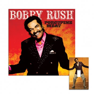 bobby-rush - Porcupine Meat CD + Light Swich Cover