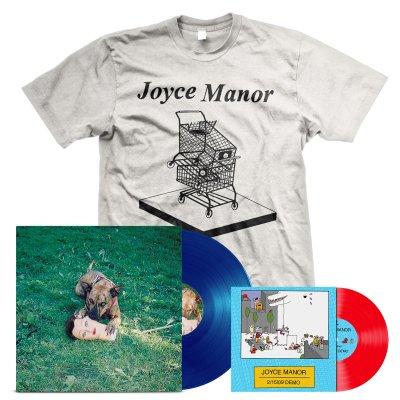 "joyce-manor - Cody LP (Blue) + 2/15/09 Demos 7"" + Shopping Carts T-Shirt Bundle"