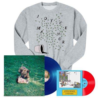 "joyce-manor - Cody LP (Blue) + 2/15/09 Demos 7"" + Plants Crewneck Bundle"