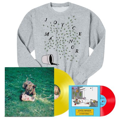 "joyce-manor - Cody LP (Yellow) + 2/15/09 Demos 7"" + Plants Crewneck Bundle"