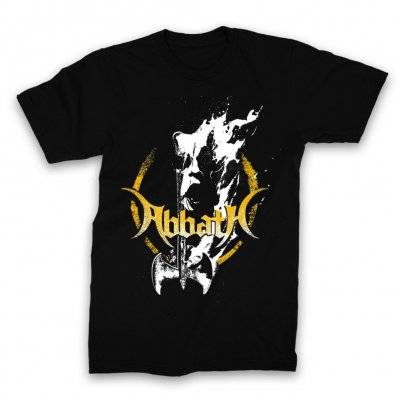 abbath - Fire Axe T-Shirt (Black)