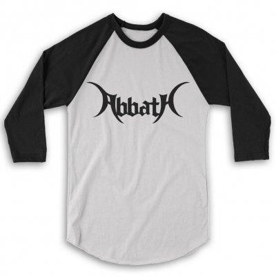 Abbath - Logo Raglan (Black/White)