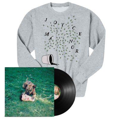 Joyce Manor - Cody LP (Black) + Plants Crewneck Bundle