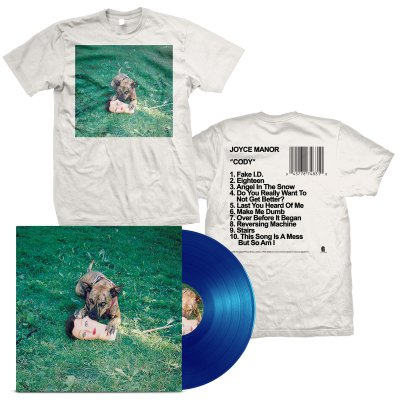 Joyce Manor - Cody LP (Blue) + Album T-Shirt Bundle