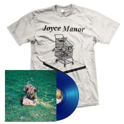 Joyce Manor - Cody LP (Blue) + Shopping Carts T-Shirt Bundle