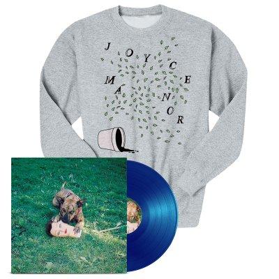 Joyce Manor - Cody LP (Blue) + Plants Crewneck Bundle