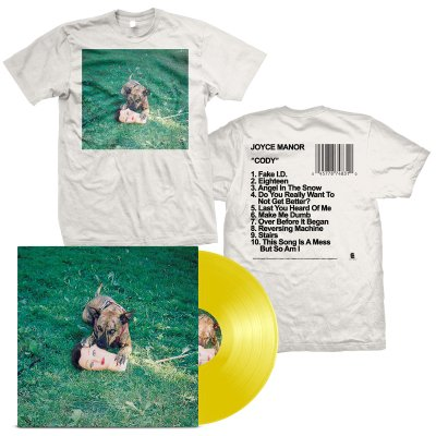 joyce-manor - Cody LP (Yellow) + Album T-Shirt Bundle