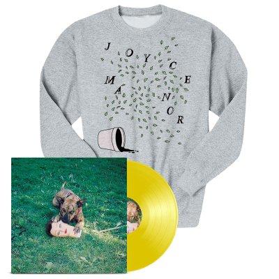 Joyce Manor - Cody LP (Yellow) + Plants Crewneck Bundle