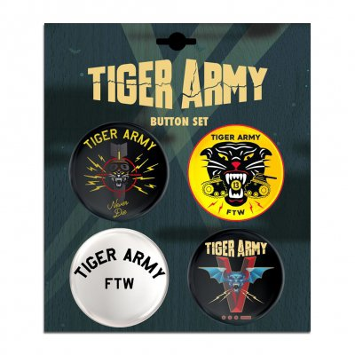 tiger-army - 4 Button Set
