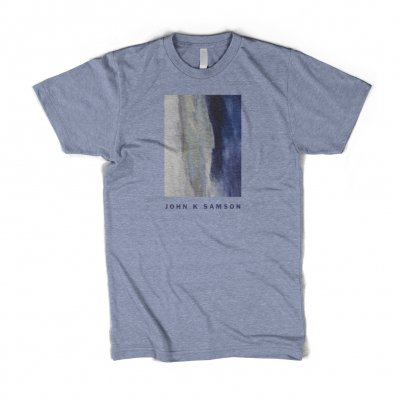 john-k-samson - Winter Wheat Cover T-Shirt (Heather Blue)