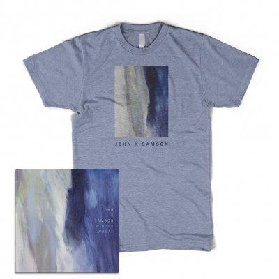 john-k-samson - Winter Wheat CD + Cover T-Shirt Bundle