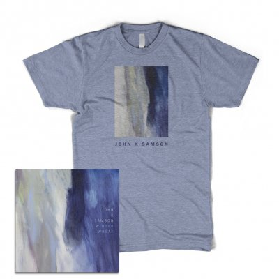 john-k-samson - Winter Wheat CD + Cover T-Shirt Bundle